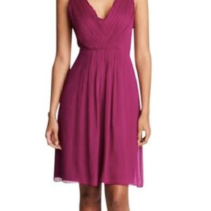 J Crew Louisa Dress in Wine/Burgandy - Size 10